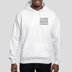 STAYS AT ANTONIO'S Hooded Sweatshirt