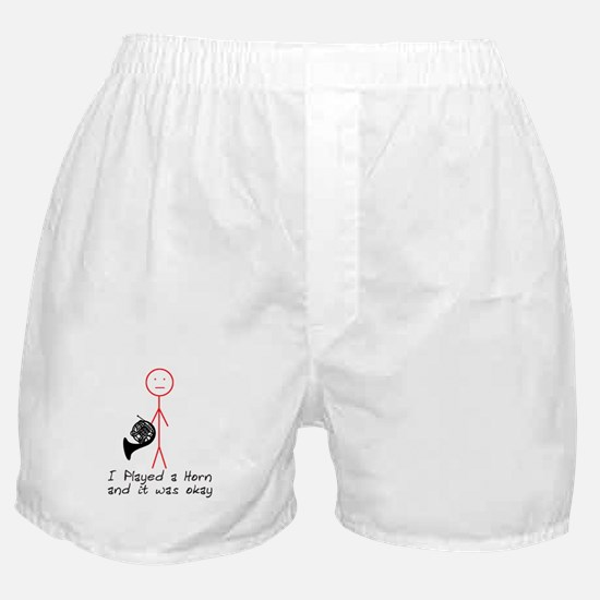I Played a Horn Boxer Shorts