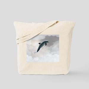 Celestial Dolphin Tote Bag