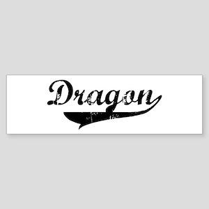 Dragon (vintage) Bumper Sticker