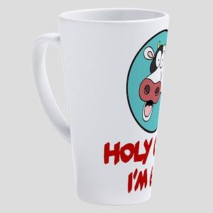 Holy Cow Im 65 17 oz Latte Mug