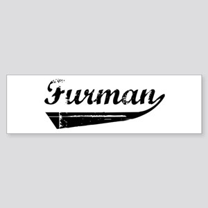 Furman (vintage) Bumper Sticker