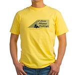 I Love Happy Endings Yellow T-Shirt