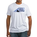 I Love Happy Endings Fitted T-Shirt
