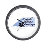 I Love Happy Endings Wall Clock