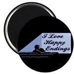 I Love Happy Endings Magnet