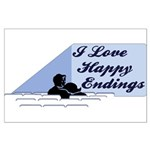 I Love Happy Endings Large Poster