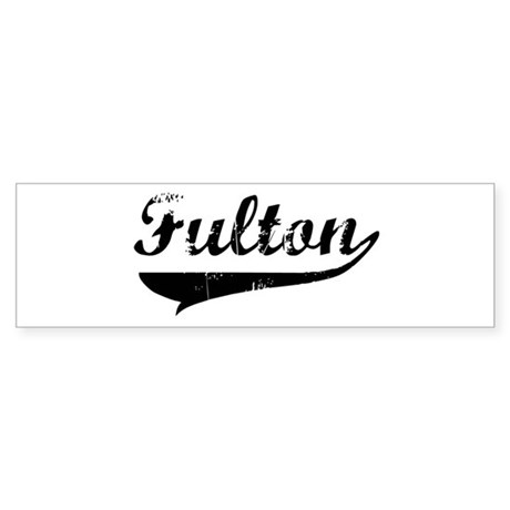 Fulton (vintage) Bumper Sticker