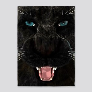 Black Panther 5'x7'Area Rug