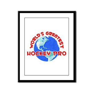 World's Greatest Hocke.. (F) Framed Panel Print