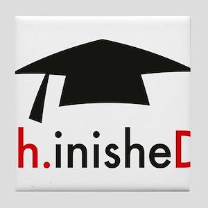 phinished Tile Coaster