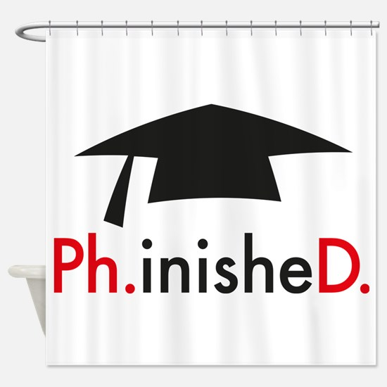 phinished Shower Curtain