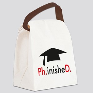 phinished Canvas Lunch Bag