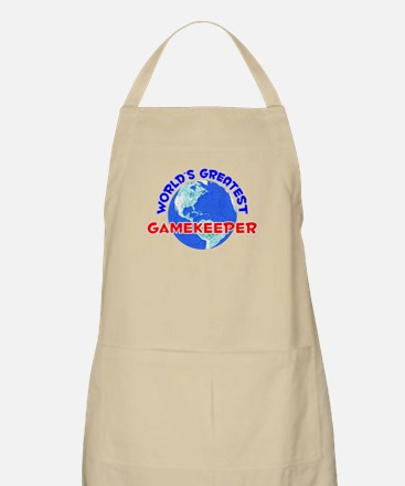 World's Greatest Gamek.. (E) BBQ Apron
