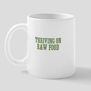 Thriving On Raw Food Mug