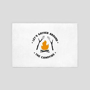 camping 4' x 6' Rug
