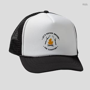 camping Kids Trucker hat