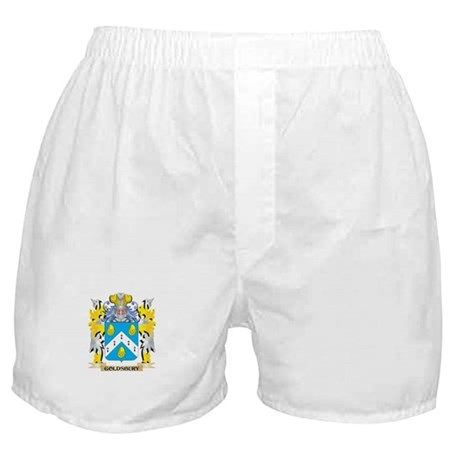 Goldsbury Coat of Arms - Family Crest Boxer Shorts