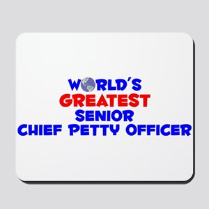 World's Greatest Senio.. (A) Mousepad