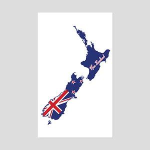 Cool New Zealand Rectangle Sticker