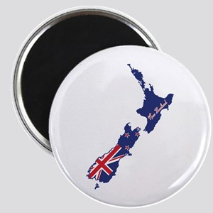 Cool New Zealand Magnet