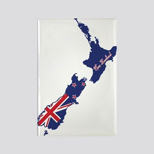 Cool New Zealand Rectangle Magnet