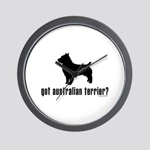 got australian terrier? Wall Clock