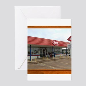 The Dairy Queen Greeting Card
