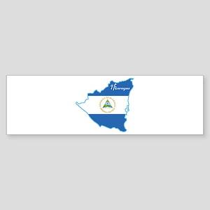 Cool Nicaragua Bumper Sticker