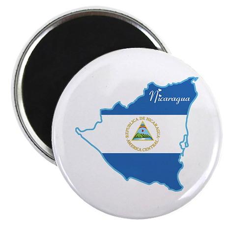 "Cool Nicaragua 2.25"" Magnet (10 pack)"