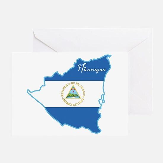 Cool Nicaragua Greeting Card