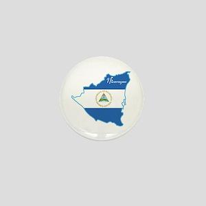 Cool Nicaragua Mini Button