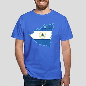 Cool Nicaragua Dark T-Shirt