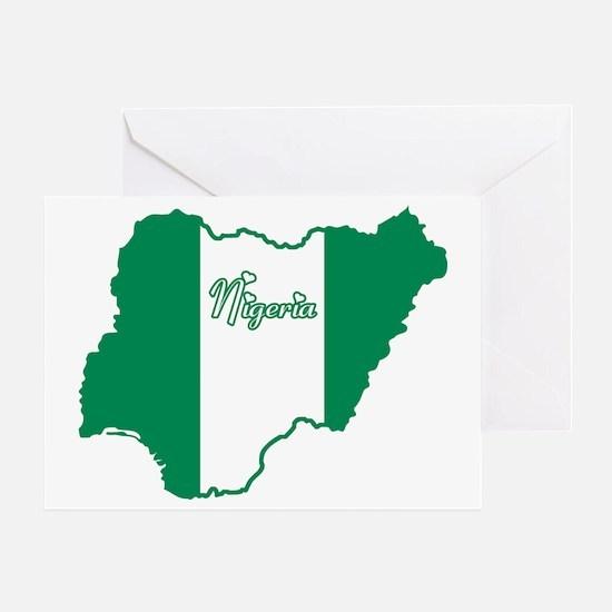 Cool Nigeria Greeting Card
