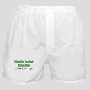 World's Coolest Romanian Boxer Shorts