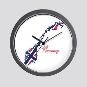 Cool Norway Wall Clock