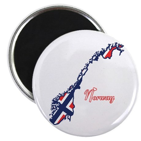 """Cool Norway 2.25"""" Magnet (10 pack)"""