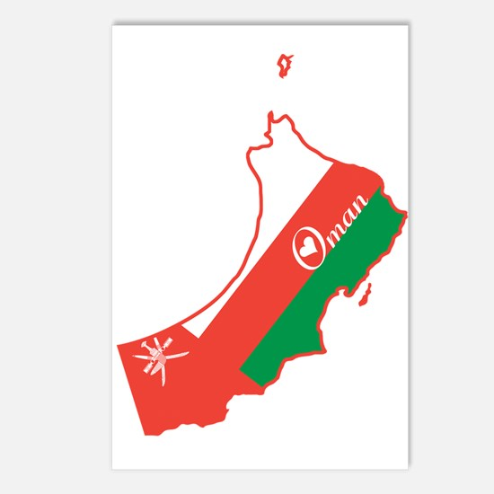Cool Oman Postcards (Package of 8)