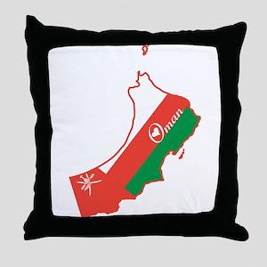 Cool Oman Throw Pillow