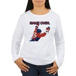 """""""Game Over"""" Women's Long Sleeve T"""