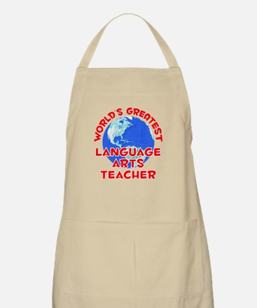 World's Greatest Langu.. (F) BBQ Apron
