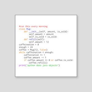 Python Does Java Objects Sticker
