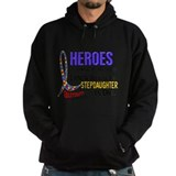 Autism daughter hero Dark Hoodies