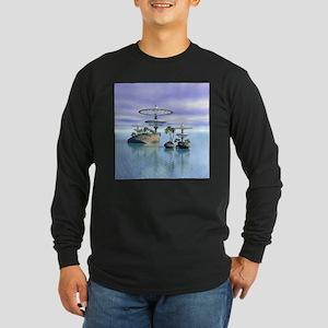 SeaLab Long Sleeve Dark T-Shirt