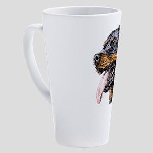 Rottweiler 17 oz Latte Mug