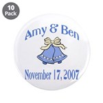 Personalized Wedding Tile Fav 3.5
