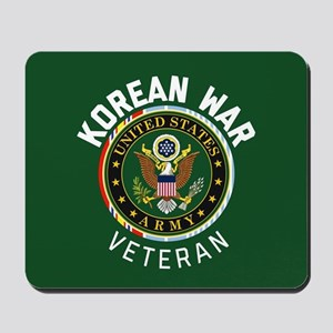 Army Korean War Veteran Mousepad
