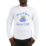 Personalized Wedding Tile Fav Long Sleeve T-Shirt