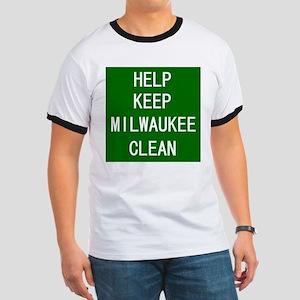 Help Keep Milwaukee Clean Ringer T