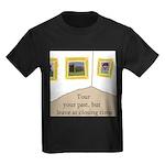 Tour your past Kids Dark T-Shirt